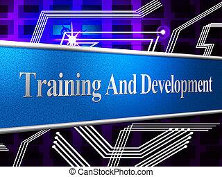 訓練, 以及, 發展, 代表, 學習, buildout, 以及, webinar