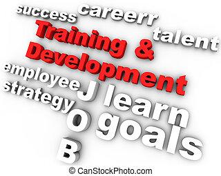 訓練, 以及, 發展, 在, 紅色, 圍繞, 所作, 有關, 詞