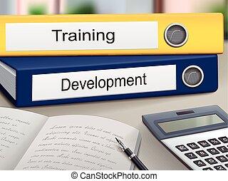 訓練, 以及, 發展, binders