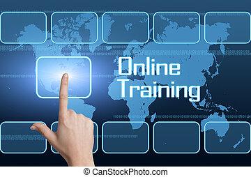 訓練, 在網上