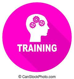 訓練, 套間, 粉紅色, 圖象