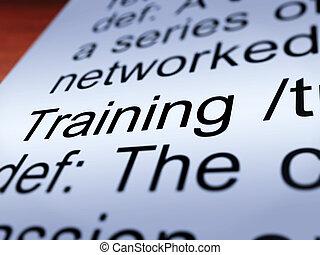 訓練, 定義, 人物面部影像逼真, 顯示, 教育