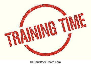 訓練, 時間, 郵票