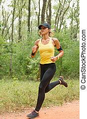 訓練, 森林, スポーツ