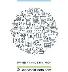 訓練, 概念, ビジネス