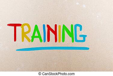訓練, 概念