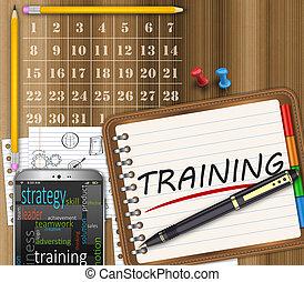 訓練, 管理