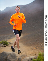訓練, 運動, ジョッギング, 動くこと, 外, 人