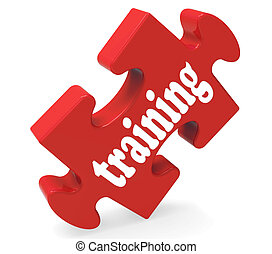 訓練, 顯示, 教育, 學習, 以及, 發展