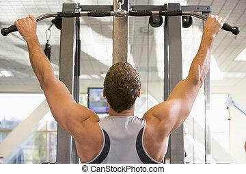 訓練, 體操, 重量, 人