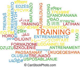 訓練, multilanguage, wordcloud, 背景, 概念