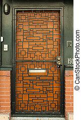 記入項目, ドア