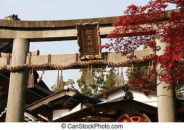 記入項目, 寺院, 日本