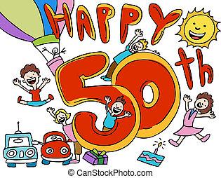 記念日, 50th, 漫画, 幸せ