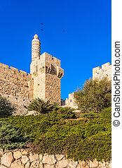 記念碑のようである, エルサレム, 壁