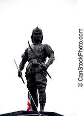 記念碑, の, phraya, phichai, dap, hak, (phraya, phichai, の, ∥,...