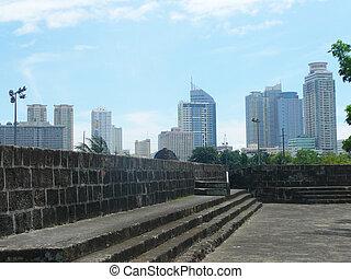 記念碑, 中に, ∥, フィリピン。