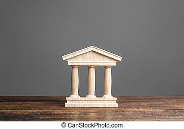 記念碑, 古い, 教育, 銀行業, 小立像, 都市, 法廷, 柱, 建築である, 概念, ∥あるいは∥, 建物, town., 部分, 銀行, 大学, library., 骨董品, government., 管理, style.