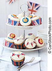 記念祭, cupcakes, 皇族