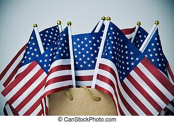 記念, テキスト, セール, アメリカのフラグ, 日