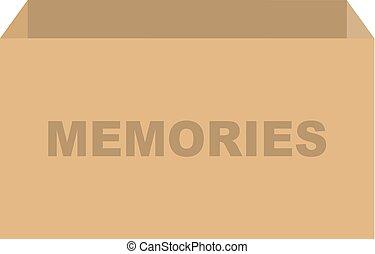 記憶, 箱, ベクトル