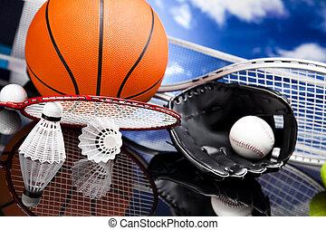 設備, 運動, 球