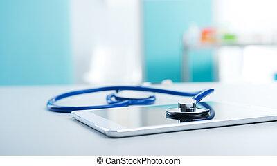 設備, 醫學