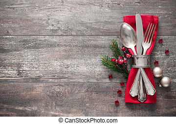 設置表, 聖誕節, 地方