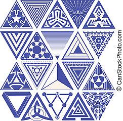 設計, 三角形