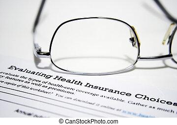 評価, 健康保険