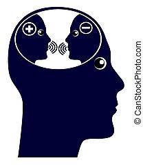 話, ∥あるいは∥, 内部の自己, 声