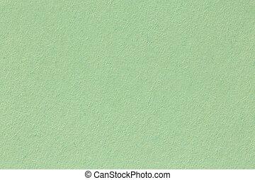 詳しい, グランジ, の上, 大いに, ペーパー, 緑, textured, 終わり, 手ざわり