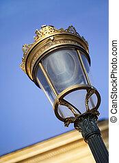 詳細, の, a, 通り ランプ