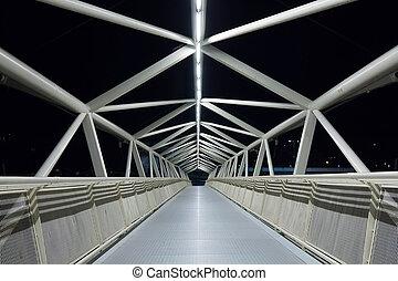 詳細, 抽象的, 橋, pedestrian 通路, の, moneo, 現代, stru