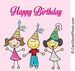 誕生日おめでとう, パーティー