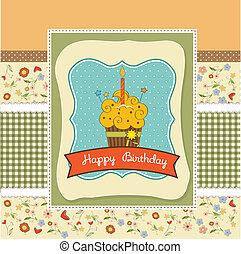 誕生日おめでとう, cupcake