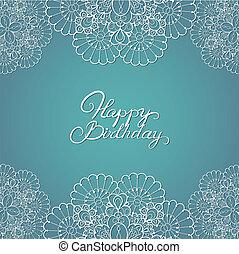 誕生日カード, 幸せ