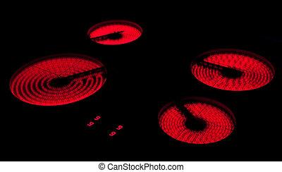 誘導, 現代, 暖炉内部の棚