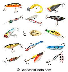 誘餌, 釣魚, 彙整