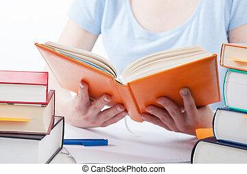 読む本, 学生