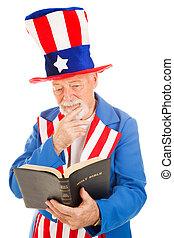 読む, 叔父 sam, 聖書