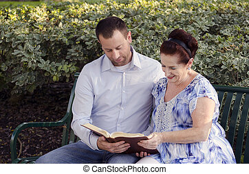 読書, 一緒に。, 聖書