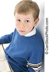 読書, 男の子
