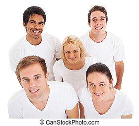 調べること, グループ, 若い人々
