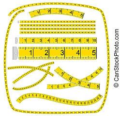 調色板, 藝術, ?measuring, (see, 刷子, file), tape?