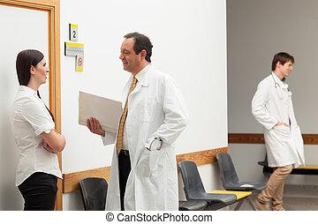 談話, 病人, 醫生