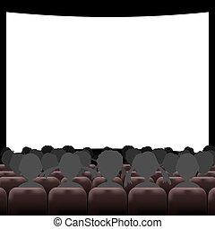 講堂, スクリーン, 席, 映画館