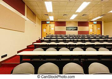 講義, 部屋