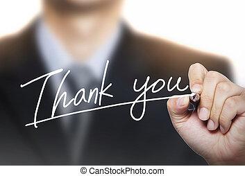 謝謝, 寫, 所作, 手