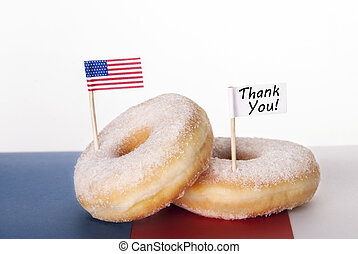 謝謝, donut